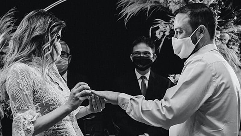 mascarilla boda