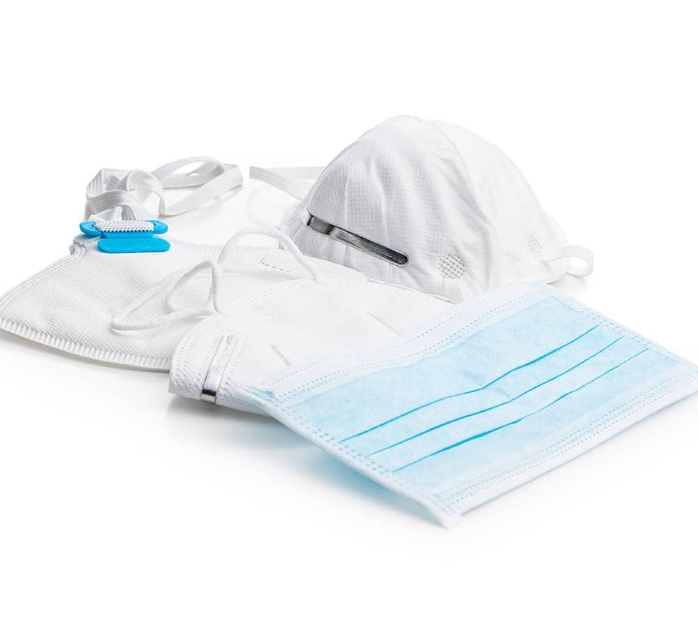 Mascarillas higienicas y quirurgicas