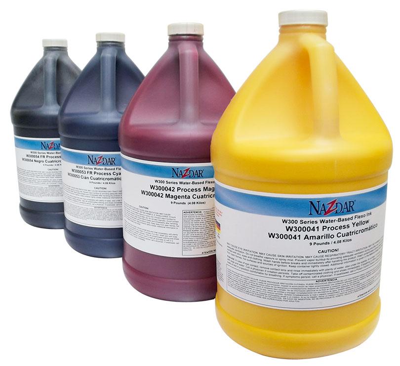 Gama de colores tintas al agua para serigrafia textil en nuestro taller de sevilla