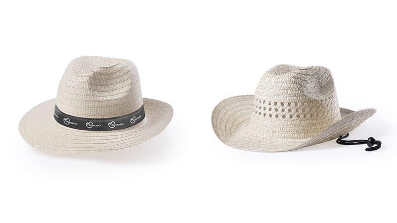 sombreros para playa personalizados